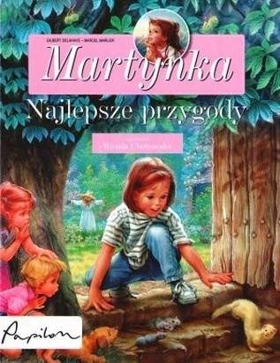 Okładka książki Martynka. Najlepsze przygody.