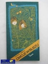Okładka książki Dwoje w buszu