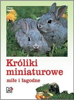 Okładka książki Króliki miniaturowe łagodne i miłe