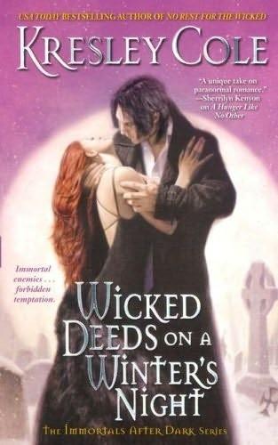 Okładka książki Wicked Deeds on a Winter's Night