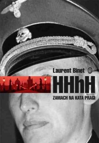 Okładka książki HHhH. Zamach na kata Pragi