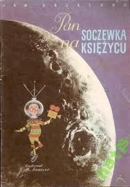 Okładka książki Pan Soczewka na Księżycu