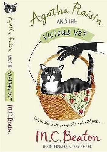 Okładka książki Agatha Raisin and the Vicious Vet
