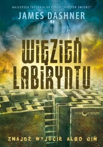 Okładka książki Więzień Labiryntu