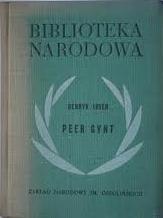 Okładka książki Peer Gynt
