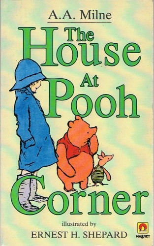 Okładka książki The House at the Pooh Corner