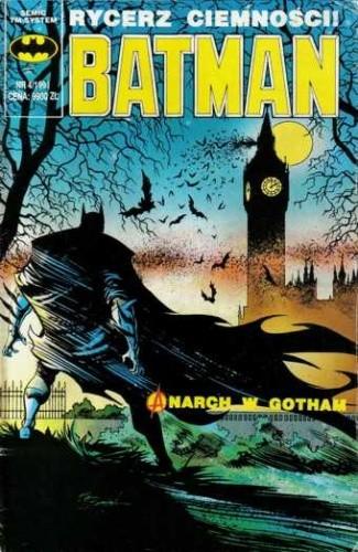 Okładka książki Batman 4/1991