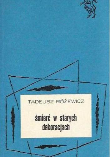 Okładka książki Śmierć w starych dekoracjach