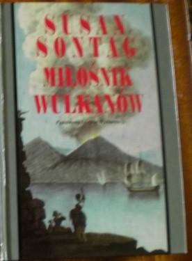 Okładka książki Miłośnik wulkanów