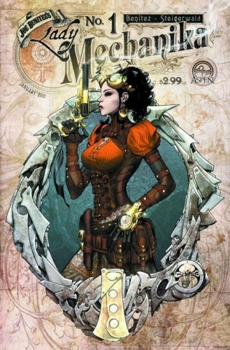 Okładka książki Lady Mechanika #1