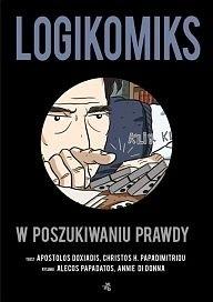 Okładka książki Logikomiks. W poszukiwaniu prawdy