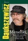 Okładka książki Meneliki, limeryki, epitafia - sponsoruje ruska mafia