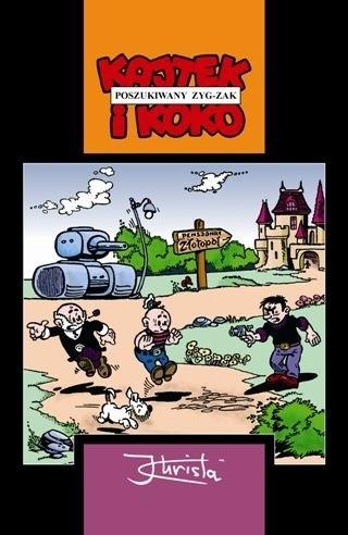 Okładka książki Kajtek i Koko. Poszukiwany Zyg-Zak