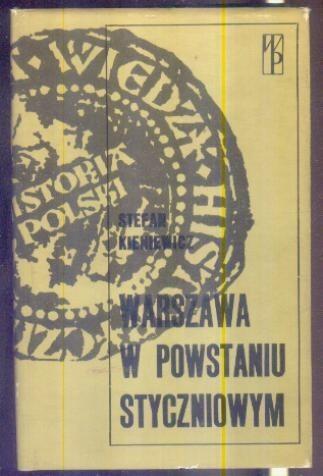 Okładka książki Warszawa w powstaniu styczniowym