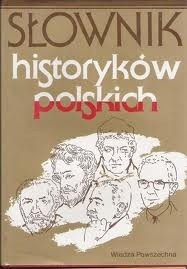 Okładka książki Słownik historyków polskich