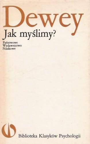Okładka książki Jak myślimy?