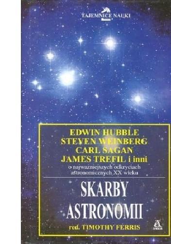 Okładka książki Skarby Astronomii red. Timothy Ferris