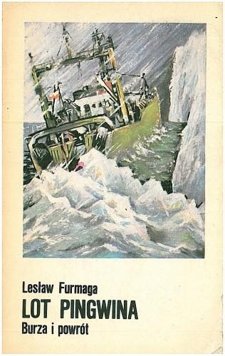 Okładka książki Lot Pingwina: Burza i powrót