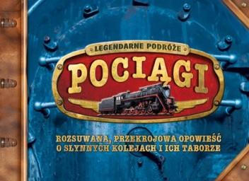 Okładka książki Legendarne podróże - pociągi