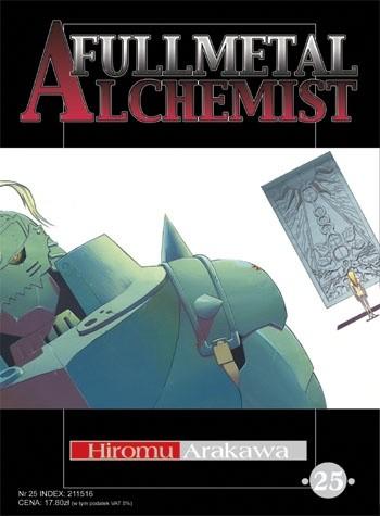 Okładka książki Fullmetal Alchemist t. 25