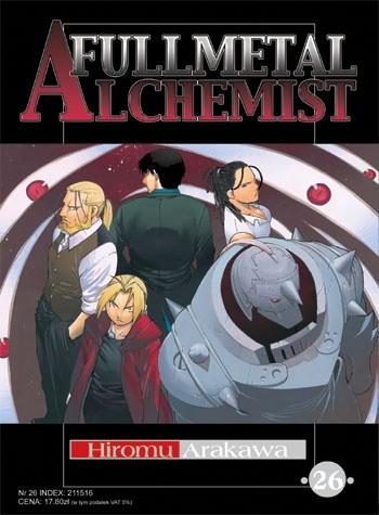 Okładka książki Fullmetal Alchemist t. 26