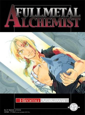 Okładka książki Fullmetal Alchemist t. 27