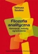 Okładka książki Filozofia analityczna. Koncepcje, metody, ograniczenia