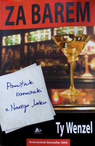 Okładka książki Za barem: pamietnik barmanki z Nowego Jorku