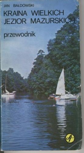 Okładka książki Kraina Wielkich Jezior Mazurskich
