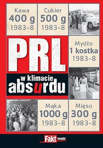 Okładka książki PRL w klimacie absurdu