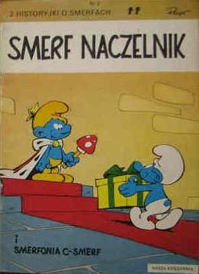 Okładka książki Smerfy 2: Smerf naczelnik. Smerfonia C-smerf