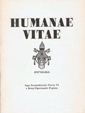 Okładka książki Humanae vitae