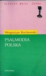 Okładka książki Psalmodia polska