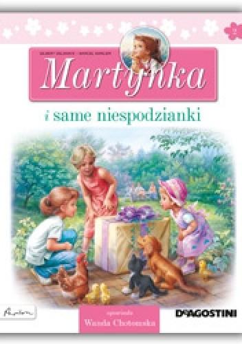 Okładka książki Martynka i same niespodzianki