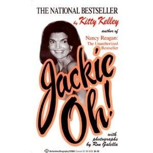 Okładka książki Jackie! nie autoryzowana biografia Jacqueline Kennedy
