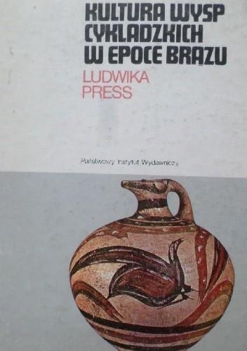 Okładka książki Kultura wysp cykladzkich w epoce brązu