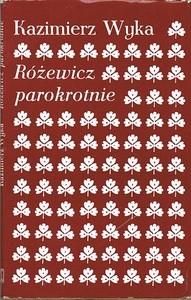Okładka książki Różewicz parokrotnie