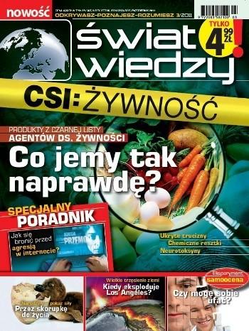 Okładka książki Świat Wiedzy (3/2011)