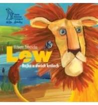 Okładka książki Lew. Bajka o dwóch królach