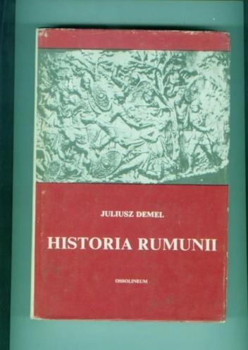 Okładka książki Historia Rumunii