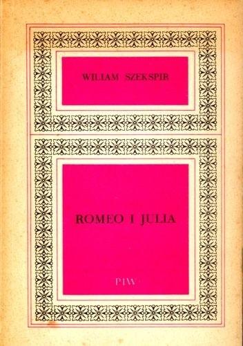 Okładka książki Romeo i Julia