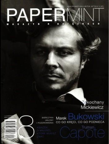 Okładka książki PAPERmint, nr 1 / wrzesień 2011