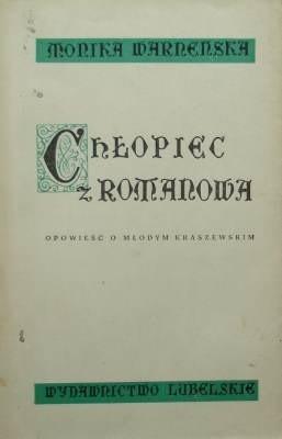 Okładka książki Chłopiec z Romanowa