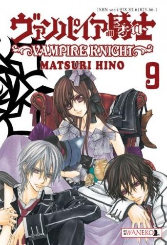 Okładka książki Vampire Knight tom 9