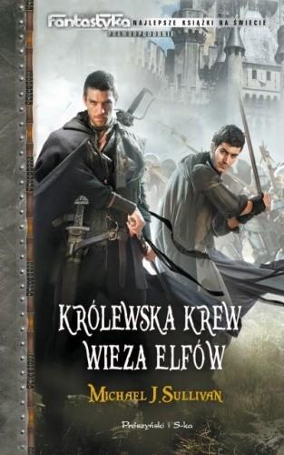 Okładka książki Królewska krew. Wieża elfów