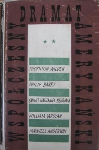 Okładka książki Współczesny dramat amerykański. Tom 2