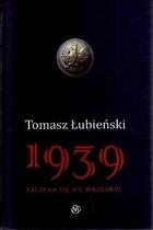 Okładka książki 1939 Zaczęło się we wrześniu.