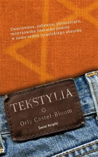 Okładka książki Tekstylia