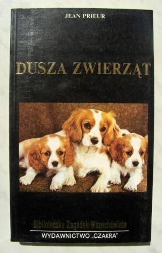 Okładka książki Dusza zwierząt
