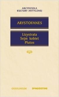 Okładka książki Lizystrata. Sejm kobiet. Plutos